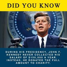 Jfk years in office Dies Jfk Image With Donation Claim Skeptics Stack Exchange United States Did Jfk Earn 150000 Year As President And