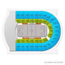 Columbus Civic Center Wwe Seating Chart Carolina Thunderbirds At Columbus River Dragons Tickets 3