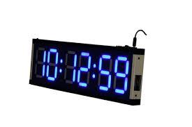 skylink 4 inch jumbo digital wall clock