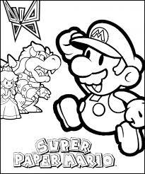 Super Paper Mario Kleurplaat Luigi Foto Von Rodi945 Fans Teilen