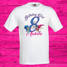 Birthday Design Shirts Shimmer And Shine Birthday T Shirts Design Only No Prints