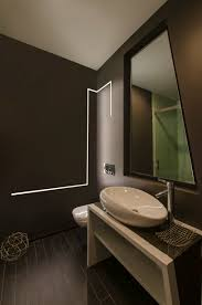 bathroom strip lighting. LED Strip Lighting Built Into The Wall Of This Bathroom How Cool! R