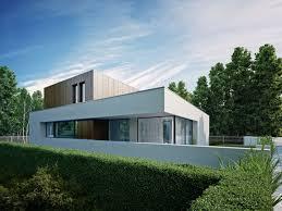 Modern cube house design