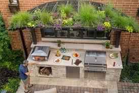 Chicago-Outdoor-Kitchen-by-Kalamazoo-Outdoor-Gourmet Summer Kitchen Design