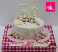 50 Years Mom Birthday Cake Happy Mothers Day Cake Designs