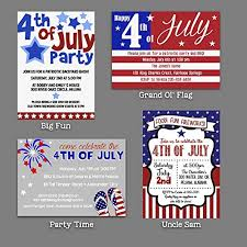 Amazon Com 4th Of July Independence Day Invitations 4