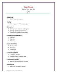 images about resume on pinterest   sample resume templates    free resume builder