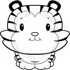 baby tiger clipart black and white. Beautiful Tiger Hippo20clipart20black20and20white And Baby Tiger Clipart Black White L