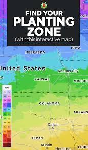 planting zones map find your gardening zones with zip code