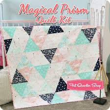 Magical Prism Quilt Kit Featuring Magic by Sarah Jane - Quilt Kits ... & Magical Prism Quilt Kit Featuring Magic by Sarah Jane - Quilt Kits | Fat  Quarter Shop Adamdwight.com