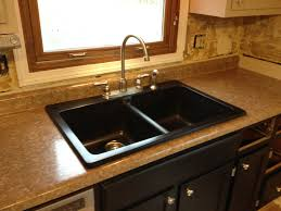 replacing kitchen sink mariorange replacement excellent intended for countertops countertop counter top attractive nice look touch faucet water shut off