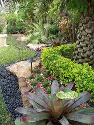 outdoor lighting miami. Cheap Innovative Landscaping Coral Springs Vogue Miami Tropical Landscape Image Ideas With Bromeliad Clean Coloful Flowers Colorful Outdoor Lighting