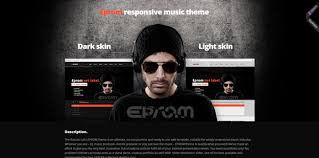 Music Website Templates Impressive 28 Best HTML Music Website Templates Code Geekz