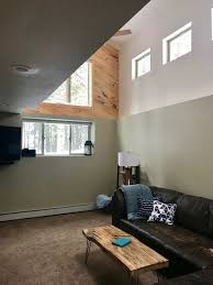 light french gray knotty pine paneling