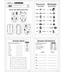 Chart Synonym Anchor Chart Synonym Antonym By