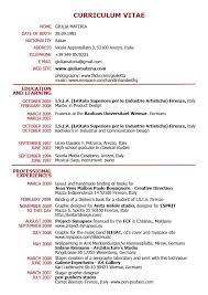 ... Resume Cv Examples Pdf Resume Cv Example 20 Vita Resume Example Cv ...