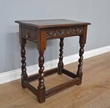 antique hall table. 18th Century Carved Oak Side Table Hall Antique D