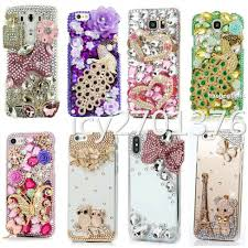 Mobile Cover Designs Handmade Details About For Samsung Galaxy Note 8 9 10 Plus Handmade Bling Case Stones Back Phone Cover