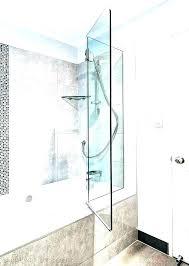 folding glass shower door bath doors accordion surprising zo