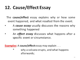 i am anila nosheen from comsats institute of information  cause effect essay
