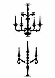 candelabra clipart 1