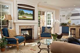 wall mounted fireplace ideas living room traditional with family room fireplace indooroutdoor image by brownhouse design los altos ca