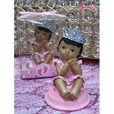 Ethnic Baby Girl Princess Baby Shower Or 1st Birthday Cake Topper Or