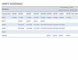 I only know use excel a little bit. Weekly Employee Shift Schedule