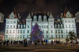 Empire State Plaza Christmas Tree Lighting