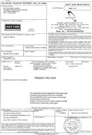 bill of lading software free template bill of lading template