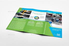 Auto Parts Catalog Tri Fold Brochure Template Vol 3 Catalog