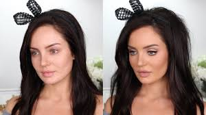 full face of matte make up 60 s mod transformation chloe morello