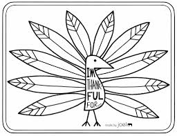 I Am Thankful For Coloring Page - Coloring Pages Ideas & Reviews