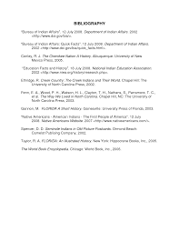 Bibliography Template Bibliography Templates Bibliographyex1 Png