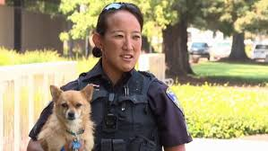 Animal Cop Cop Adopts Dog Rescued From California Wildfires Fox News