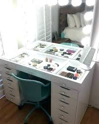 makeup storage bags uk acrylic cart ideas drawers furniture awesome organizers and