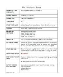 Internal Investigation Template Btcromania Info