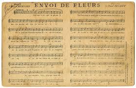 printable vintage sheet music french ephemera sheet music postcard the graphics fairy