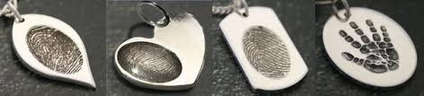 silver fingerprints