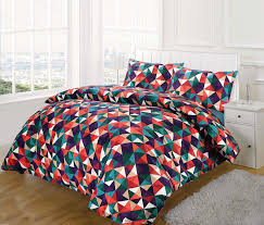 multi colored duvet cover