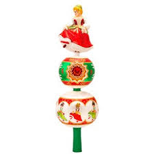 33 Best White Christmas Images On Pinterest  Xmas Trees Christmas Tree Finials
