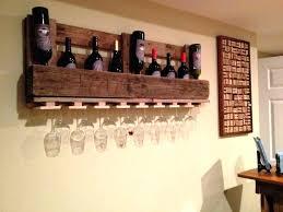 wooden wall mounted wine rack photos and door wood minima glass