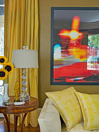 Yellow Living Room Rooms Viewer Hgtv