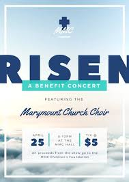 benefit flyer templates church choir benefit concert flyer templates by canva