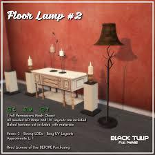 Tulip 4 Light Floor Lamp Black Tulip Virtual News