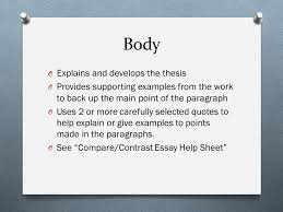 historical narrative comparative essay the assignment o write an 12 body