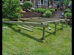 how to build a deck part 05 building