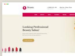 Hair Saloon Websites Beauty Salon Websites Templates Free Download By Jitu Dribbble