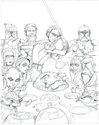 Star Wars The Clone Wars Coloring Pages Star Wars Clone Wars
