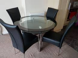 dinning table chair bose solo 5 coffee table ikea spiral mirror real leather sofa arm chair 4 in redfield bristol gumtree